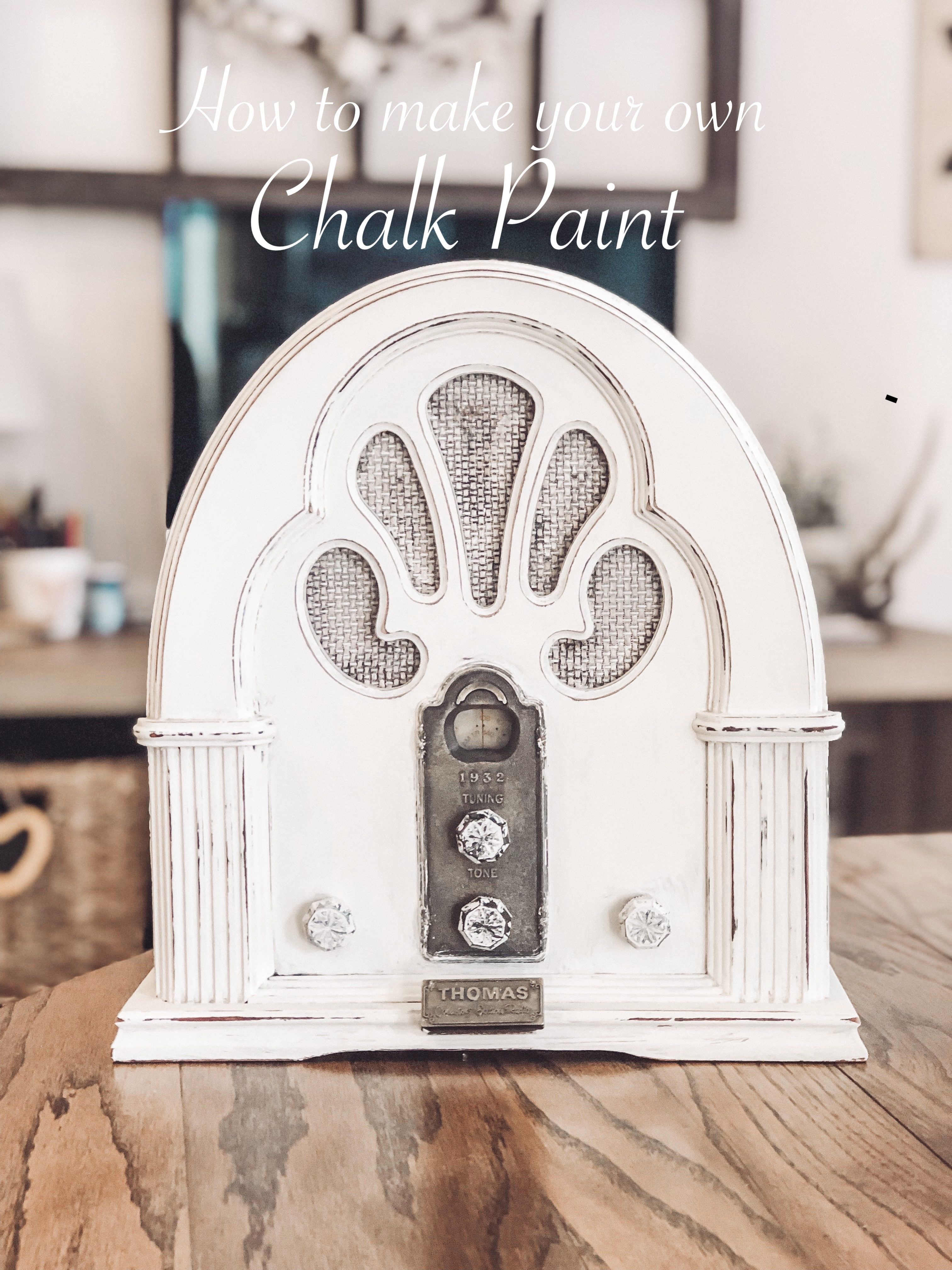 Read more about the article How to make your own Chalk Paint!