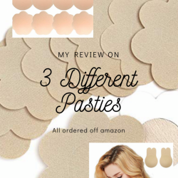 My Review On 3 Different Amazon Pasties