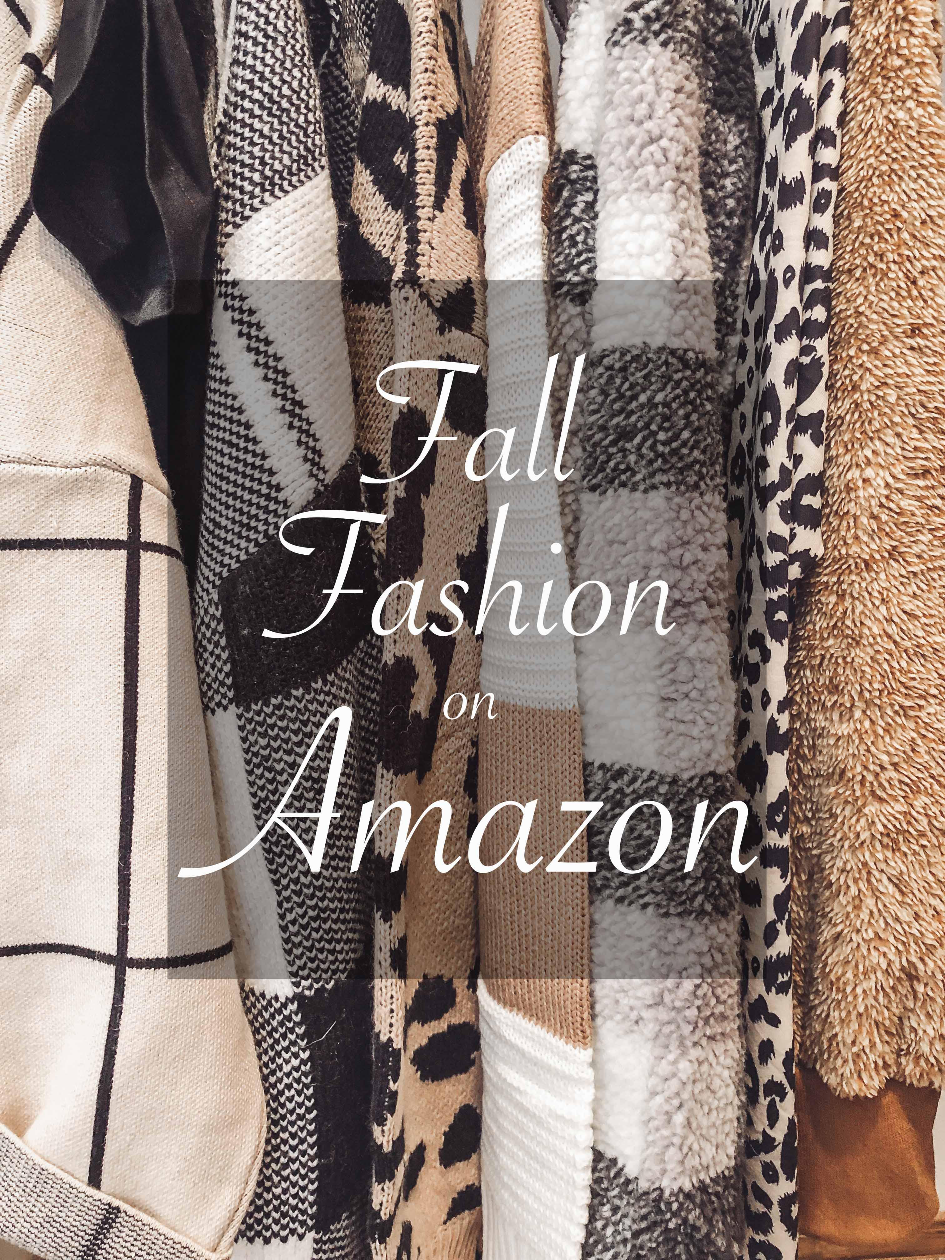 Fall Fashion On Amazon!