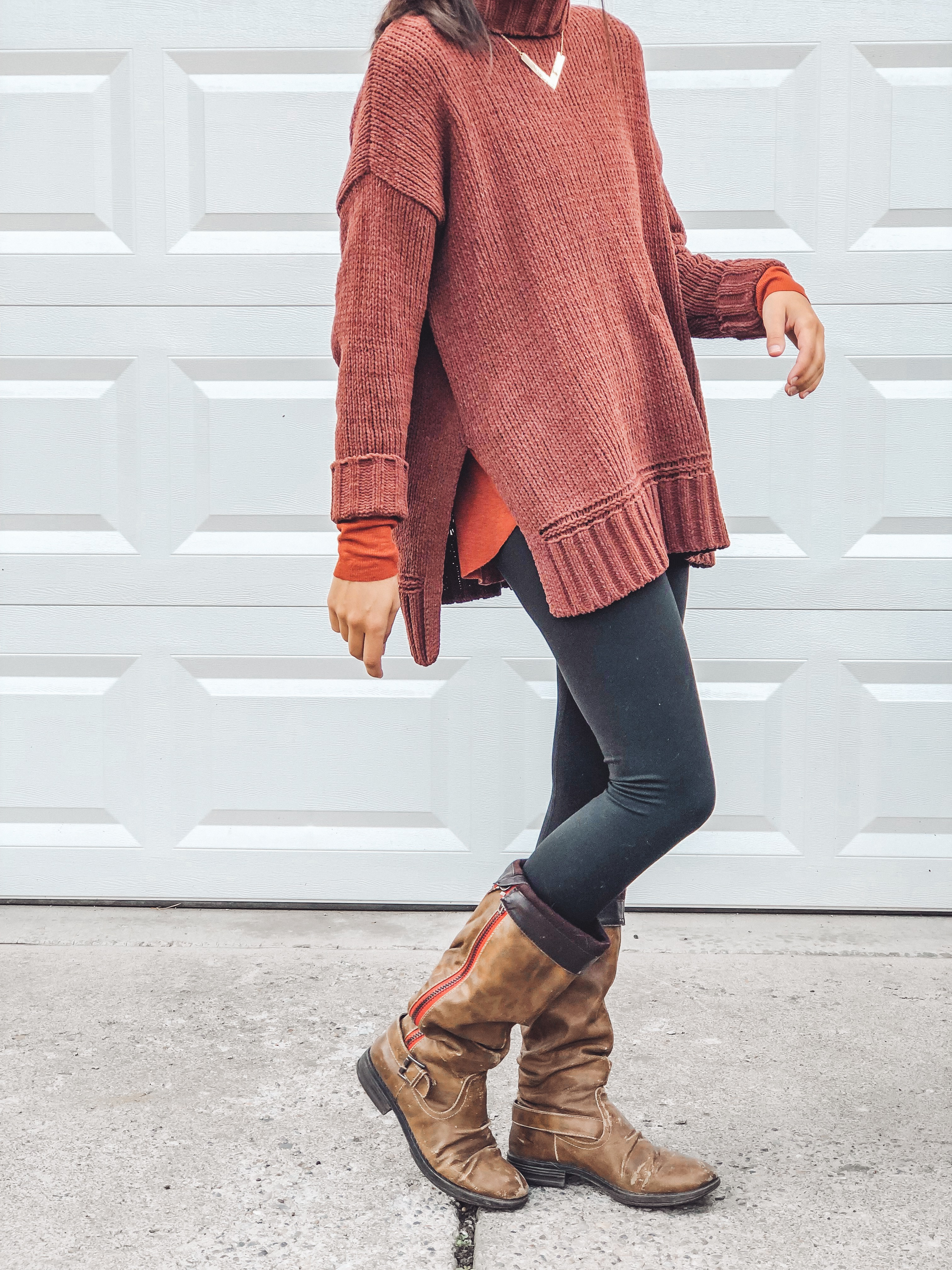 Aerie Cozy Outfit Details